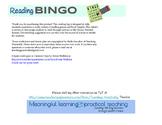 Reading BINGO (Reading log for intermediate students); Wit