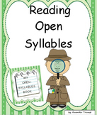 Reading Open [Vowel] Syllables - Unit 5
