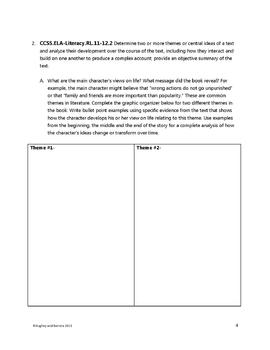Reading by the Standard 11-12 (ELA Common Core)