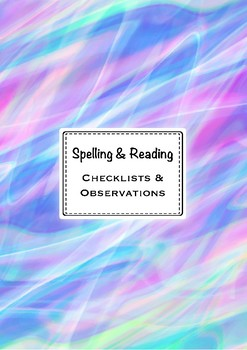 Reading checklists and obseravtions | EDITABLE
