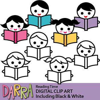 Reading clip art