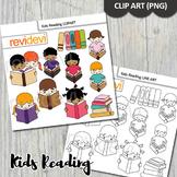 Reading clip art bundle