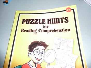 Reading comprehension- Puzzle Hunts