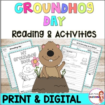 Groundhog Day Reading comprehension - Closed reading- activities