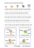Reading comprehension and adjectives for Spanish speakers