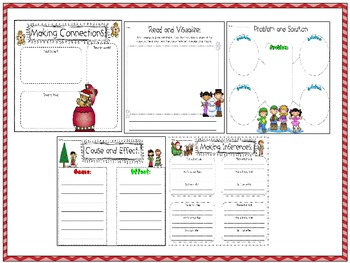 Graphic organizers and activities: Christmas-themed