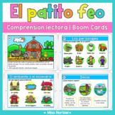 Reading comprehension Boom Cards in Spanish | Comprensión