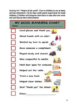 Reading Comprehension Passage Manners Manners By Deepika