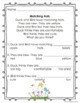 Reading comprehension passages and questions Spring Theme! Pre-K - Grade 1