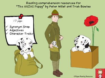 """""""The ANZAC Puppy"""" resources"""