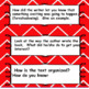 Reading Comprehension Skills Questions