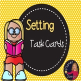 Reading elements Setting Task Cards and anchor chart