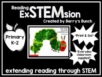 Reading exSTEMsion with The Very Hungry Caterpillar