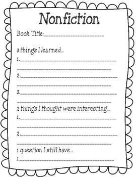 Reading fiction/ non fiction