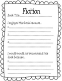 Reading fiction/ non fiction