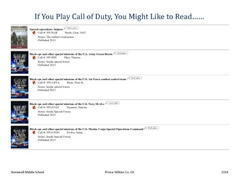 Reading for Call of Duty Players