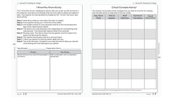 Reading for College:  Literacy Skills Activity Book for College Readiness