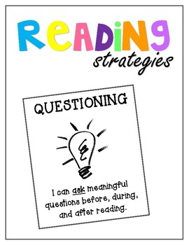 Reading for Comprehension /// 7 Posters