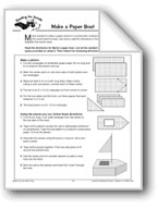Reading for Details: Paper Boat