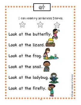 Fluency Reading With Sight Words