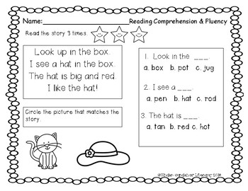 Reading for Fluency and Comprehension
