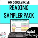Reading for Google Drive & Google Classroom SAMPLER PACK