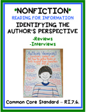 Reading for Information - Identifying the Author's Perspective - RI.7.6.