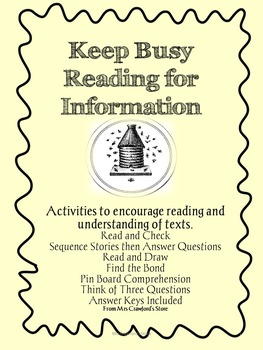 Reading for Information Pack