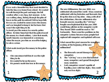 Reading for Information Task Cards