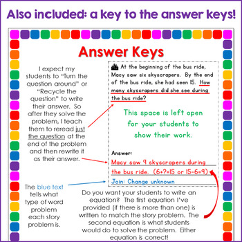 Reading for Math: Building Reading Comprehension of Story Problems