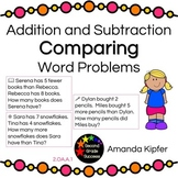 Addition and Subtraction Comparing Word Problems