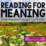 Reading for Meaning: April Edition