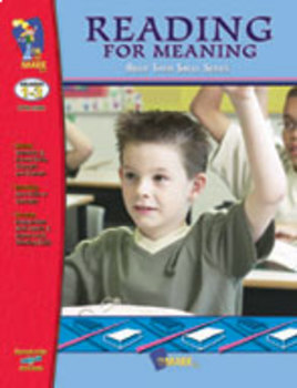 Reading for Meaning: Build Their Skills Workbook Grades 1-3