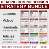 Reading Comprehension Strategies MEGA Bundle Distance Lear