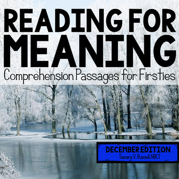 Reading for Meaning: December Edition