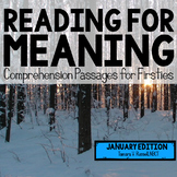 Reading for Meaning: January Edition