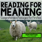 Reading for Meaning: March Edition