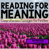Reading for Meaning: May Edition