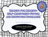 Reading for Meaning: Self-Monitoring Fiction and Non-fiction Bookmarks