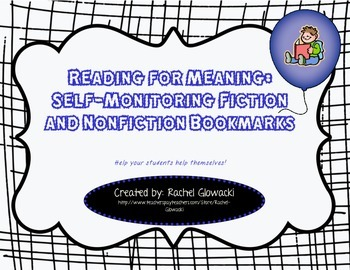 Reading for Meaning: Self-Monitoring Fiction and Non-ficti