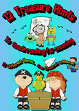 Reading for Meaning - Treasure Hunts - Comprehension - No Prep