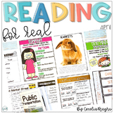 Reading for Real - A Month of Reader's Workshop Lesson Pla