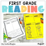 Reading for Real-A Month of Reader's Workshop Lesson Plans & Activities  August