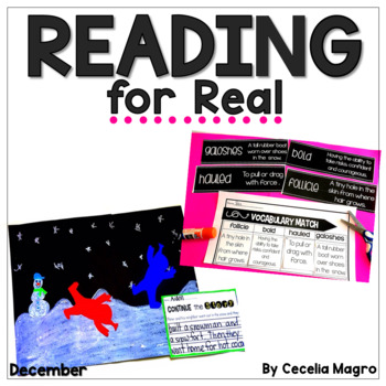 Reading for Real - A Month of Lesson Plans and Activities for December