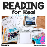 Reading for Real-A Month of Reader's Workshop Lesson Plans & Activities January