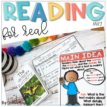 Reading for Real-A Month of Reader's Workshop Lesson Plans & Activities for May