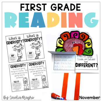 Reading for Real - A Month of Lesson Plans and Activities for November