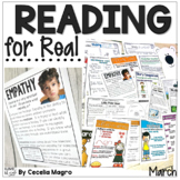 Reading for Real-A Month of Reader's Workshop Lesson Plans & Activities March