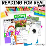 Reading Comprehension A Month of Reader's Workshop Lesson Plans March