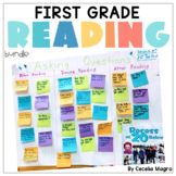 First Grade Reading Comprehension Strategies Reading Lessons Digital Print & GO
